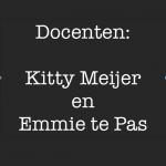 Docenten Kitty en Emmie